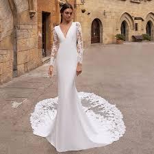 Best Promo #d3f7 - Eightree Vestido De Noiva Long Sleeves ...