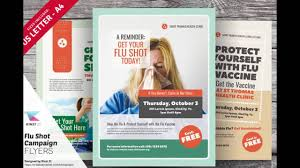 flu shot campaign flyer templates flu shot campaign flyer templates