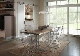 real rustic kitchen table long: dining with and dining rustic dining table with modern chairs