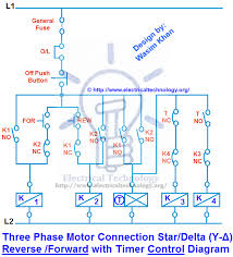 three phase motor connection star delta y Δ reverse forward 3 phase motor connection star delta y Δ reverse forward