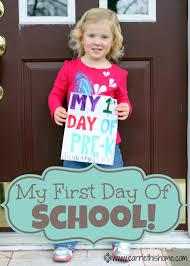 my first day at school steemit