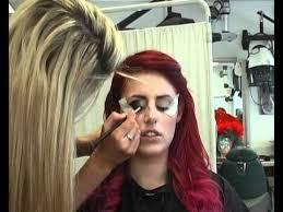 red riding hood eye make up tutorial