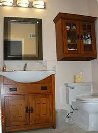 arts crafts bathroom vanity:  images about bathroom ideas on pinterest craftsman vanities and cabinets