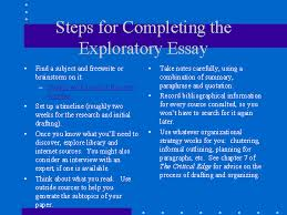 buy an exploratory essay