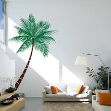 palm tree wall stickers: queen palm tree wall decal