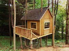 Tree house plans  Free woodworking plans and Treehouse on PinterestTree House Kits to Build   How to Build a Treehouse