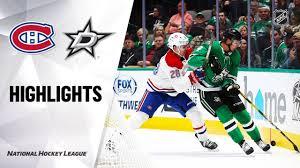 NHL Highlights | Canadiens @ Stars 11/02/19 - YouTube