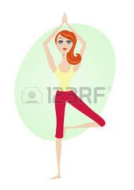 Image result for standing on one leg cartoon