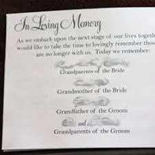 Wedding Program Memorial Quotes, In Loving Memory Quotes ... via Relatably.com