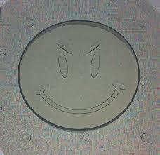 Lotus Notes Emoticons Flexible Resin Or Chocolate Mold Mean Smiley Emoticon Emoji Face