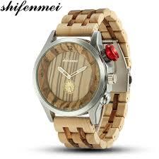 <b>Shifenmei Wood</b> Watch Fashion Casual Brand Waterproof Quartz ...