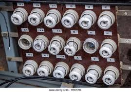 old fuses stock photos & old fuses stock images alamy Old Fuse Box an old fuse panel with ceramic fuses from east germany seen in the former 'people's old fuse box diagram