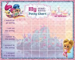 printable shimmer and shine potty training chart punch cards printable shimmer and shine potty training chart punch cards digital jpg files instant