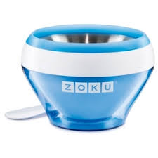 «Zoku <b>Мороженица</b> домашняя <b>Ice Cream Maker</b> синяя ZK120-BL ...
