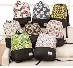 Miyahouse Women Backpacks For Teenage <b>Girls Floral Printed</b> ...