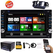 Double Din Car <b>Stereo</b> GPS Navigation System DVD Player ...