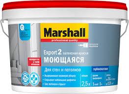 <b>Краска Marshall</b> Export-2 глубокоматовая BC 2.5л - купить в ...