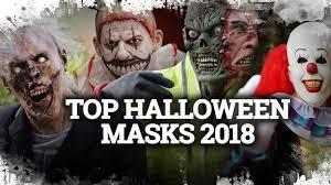 Top <b>Horror</b> & <b>HALLOWEEN MASKS</b> 2018 - YouTube