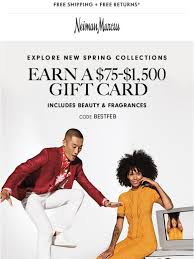 Neiman Marcus: Want to earn a $75-$1,500 gift card? | Milled