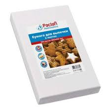 <b>Бумага</b> для выпечки листовая, белая, 40 х 60 см, <b>Paclan</b>, 500 шт ...