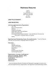 waiter resume format doc equations solver restaurant waiter resume sle x cover letter