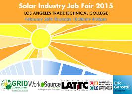 don t miss solar industry job fair grid alternatives news