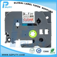 10 packs tze111 compatible brother tze label tape tze 111 6mm 8m black on clear for p touch makers laminated