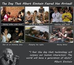 """Albert Einstein quotes. """"I fear the day that technology will ..."""