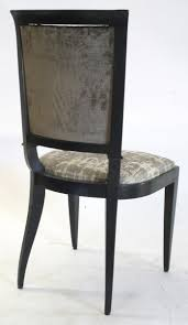 1930039s french art deco leleu dining chairs art deco dining chairs