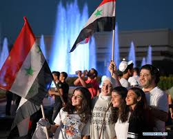 Feature: Thousands rally for world's International Day of Peace in ...