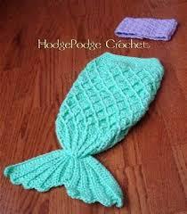 Free <b>Crochet Mermaid Tail</b> Pattern For <b>Babies</b> … | <b>Crochet</b> mermaid ...