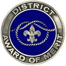 Image result for district award of merit
