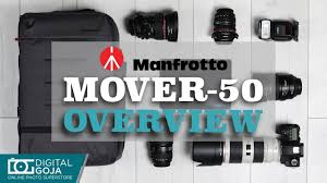 <b>Manfrotto</b> Lifestyle <b>Manhattan Mover</b>-<b>50</b> Camera Backpack | Overview