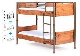 Детская <b>двухъярусная кровать</b> Black <b>Pirate Cilek</b> 20.13.1401.00 ...