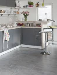 kitchen floor tiles small space: love these big square grey tiles for the kitchen and dining area