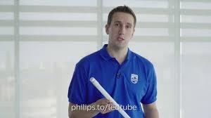 Установка <b>светодиодных ламп</b> Philips LEDtube - YouTube