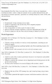 professional best buy sales associate templates to showcase your    resume templates  best buy sales associate