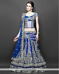 de beauteous royal blue designer lehenga simply awesome beauteous pink blue