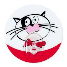 <b>Крючок</b> одинарный <b>Tatkraft Funny Cats</b> скотч купить недорого в ...