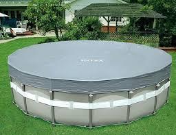 <b>Тент</b> для каркасных бассейнов <b>INTEX</b> Deluxe диаметром 549 см ...