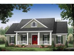 Colonial House Plans at Dream Home Source   Colonial House Floor PlansDHSW