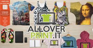 Print on Demand All-Over-Print T-Shirt Dropship