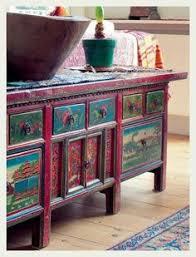 painting furniture boho style bohemian style furniture