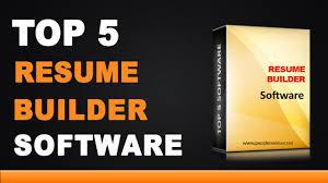 best resume builder software top 5 list