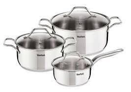 <b>Набор посуды</b> из кастрюль <b>Tefal</b> Intuition, 6 предметов - купить по ...