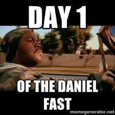 Day 1 Of the Daniel Fast - Ice Cube- Today was a Good day | Meme ... via Relatably.com