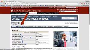 using the occupational outlook handbook website using the occupational outlook handbook website