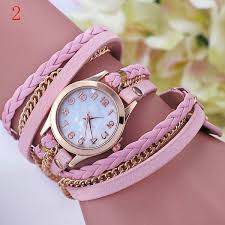DHL 2015 <b>New Fashion Vintage Colorful</b> Multilayer Faux Leather ...