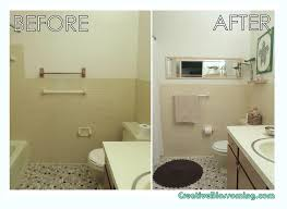 bathroom makeovers tight budget