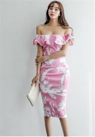 Buy <b>Crystal</b> Korea Fashion Summer <b>New Elegant</b> Strapless Dress ...